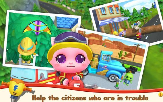 Pet Heroes: Fireman screenshot 2