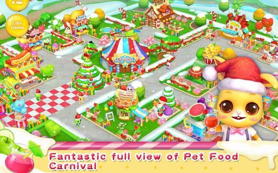 Pet Food Carnival - Merry Xmas poster