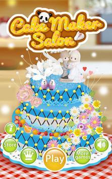Cake Maker Salon poster