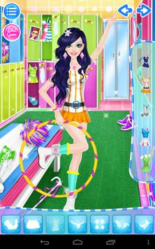 Cheerleader Salon apk screenshot