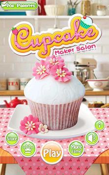 Cupcake Maker Salon poster