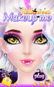 Halloween Makeup Me poster