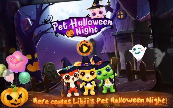 Pet Halloween Night poster