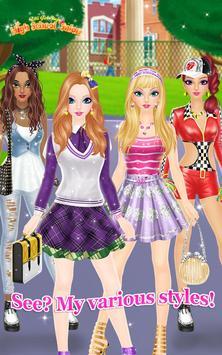High School Salon apk screenshot