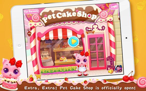 Pet Cake Shop apk screenshot
