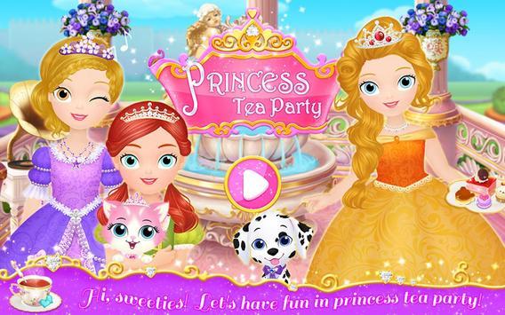Princess Libby: Tea Party apk screenshot