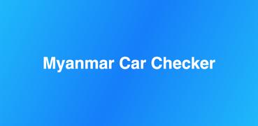 Myanmar Car Checker