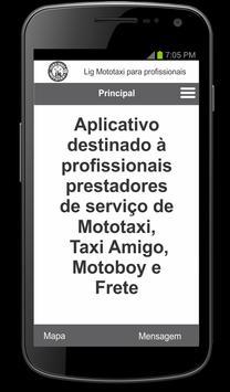 Lig Mototaxi Profissional apk screenshot