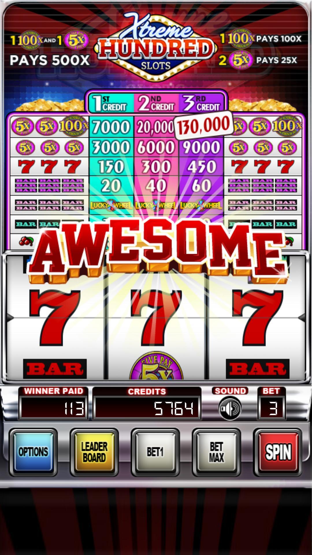 XTreme 100x | Slots Free poster
