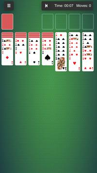 18 Solitaire card games spider freecell klondike poster
