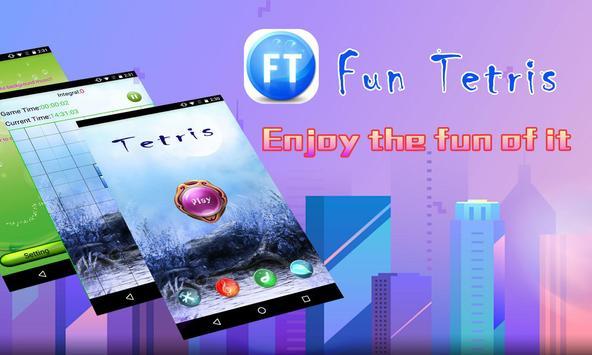 Free Tetris:puzzle game poster