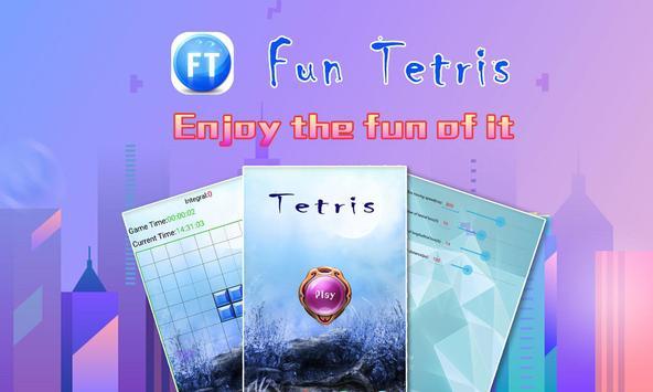 Free Tetris:puzzle game screenshot 1