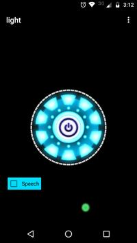 Voice Flashlight screenshot 1