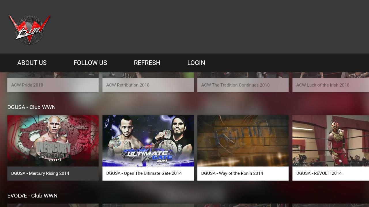 World Wrestling Network for Android - APK Download