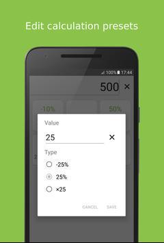 Seller's Calculator Free apk screenshot