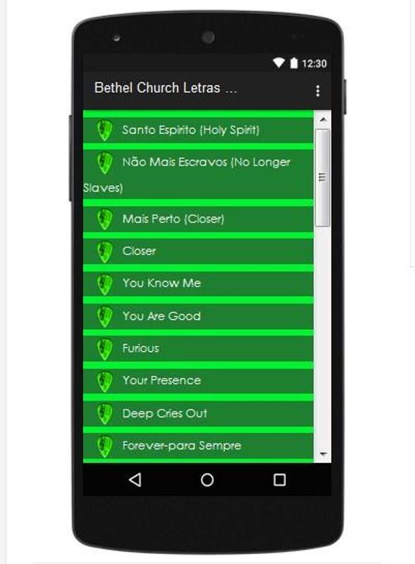 Bethel Church Letras Chord APK Download - Free Entertainment APP for ...