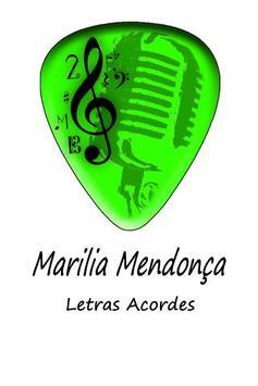 Marilia Mendonça Letras Cord poster