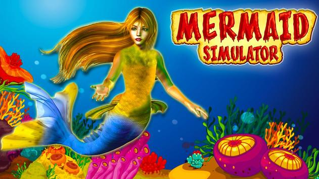 Mermaid simulator 3d game - Mermaid games 2020 poster