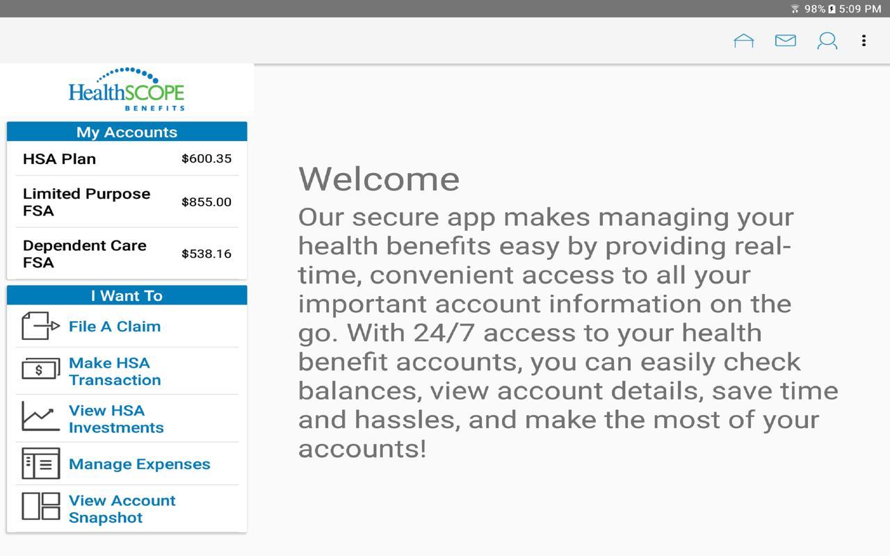 ... HealthSCOPE Benefits Mobile تصوير الشاشة 4 ...
