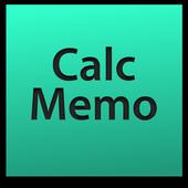 CalcMemo icon