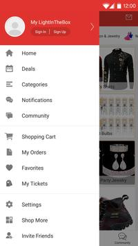 Lightinthebox Online Shopping apk screenshot