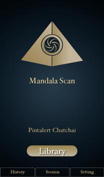 Mandala Scan poster