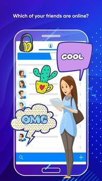 Messenger Light for SMS Online - Video Chat screenshot 4