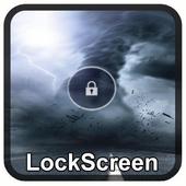 Lightning Tornado Lock Screen icon
