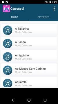 Carrossel Music Lyrics apk screenshot