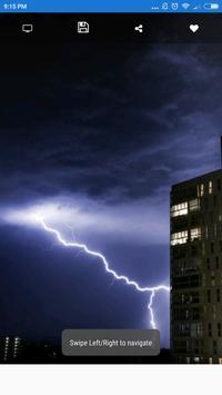 Cool Lightning Photo Wallpaper HD screenshot 8