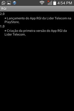 RGI Lider apk screenshot