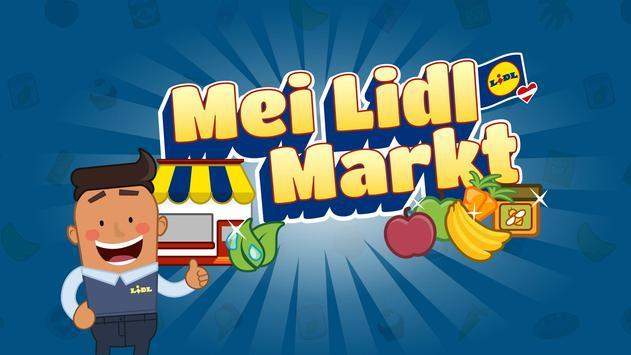 Mei Lidl Markt poster