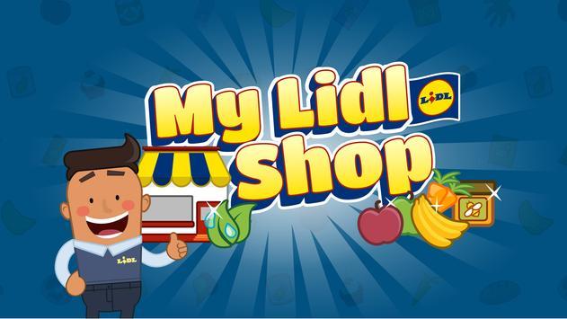 My Lidl Shop poster