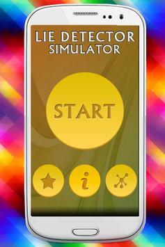 Lie Detector Simulator Prank poster