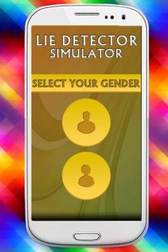 Lie Detector Simulator Prank apk screenshot