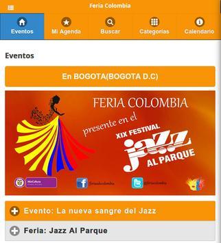Feria Colombia poster