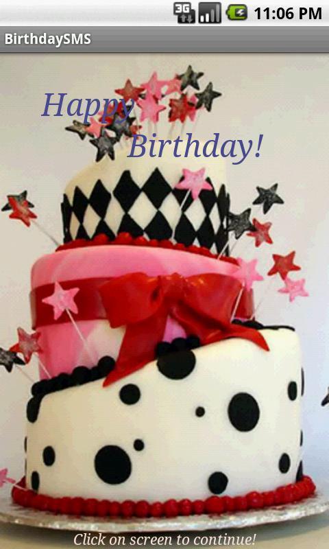 Birthday SMS Pro Poster
