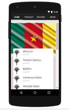 All Cameroon Radio Stations Free screenshot 1