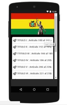 Código Penal Boliviano screenshot 3
