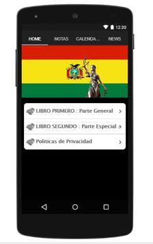 Código Penal Boliviano screenshot 1