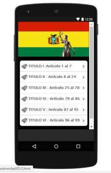 Código Penal Boliviano screenshot 2