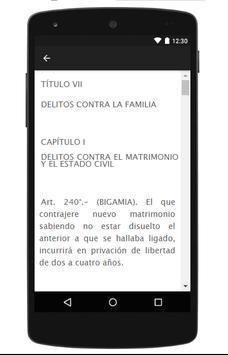 Código Penal Boliviano screenshot 5