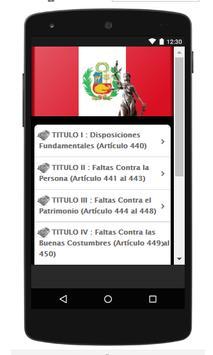 Codigo Penal Peruano screenshot 4