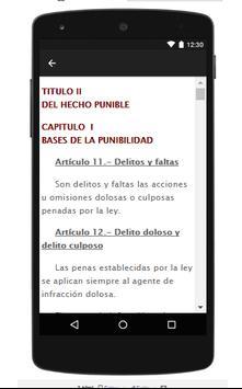 Codigo Penal Peruano screenshot 2