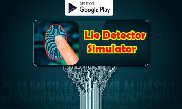 Lie Detector Fingerprint Simulator poster