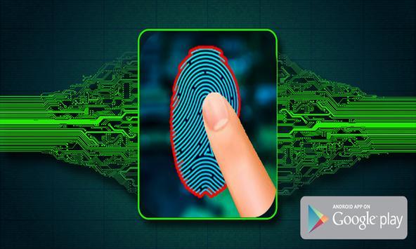 Lie Detector Fingerprint Simulator apk screenshot