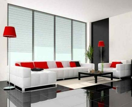 White Living Room Furniture apk screenshot