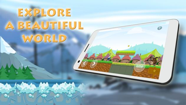 Game of smurfs in the epic village of lep apk screenshot