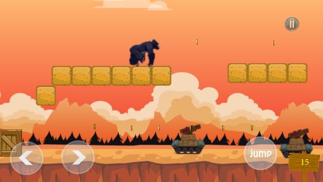 Game of King  apes Kong : planet guntlet apk screenshot