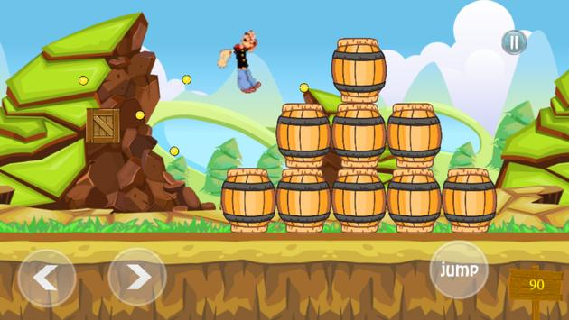 Game of Papeye vs atomic puppet apk screenshot
